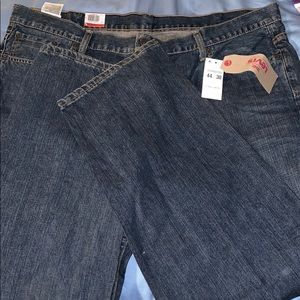 Levi's 550 relaxed big and tall jeans.